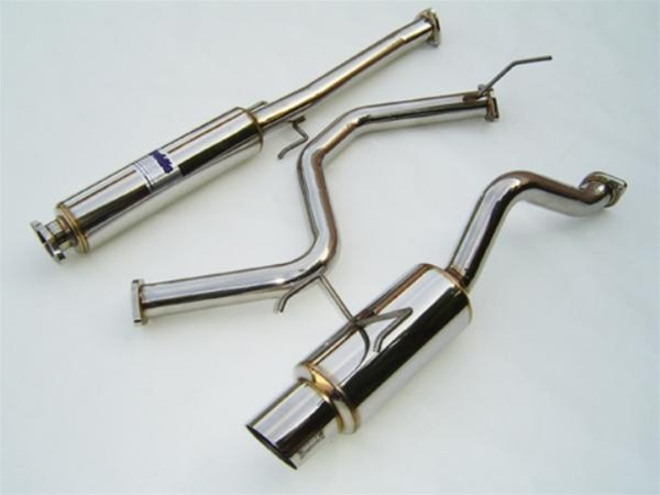 Invidia N1 Catback Exhaust 9600 Honda Civic Hatchback Jdm Single Stainless Tip: Civic Stainless Exhaust At Woreks.co