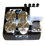 CP Forged Pistons for Honda H22 (sleeved block only) 87.00mm, 9.0:1 CR