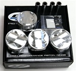 CP Forged Pistons for Honda F22C 87.00mm, 12.5:1 CR