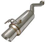 "Injen 60mm Catback Exhaust System w/ 4.0"" Stainless Tip for the 2006-2009 Honda Civic Si Coupe and Sedan"
