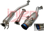 "Injen 60mm Catback Exhaust System w/ 4.5"" Titanium Tip for the 2006-2009 Honda Civic Si Coupe"