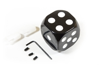 AFTERMARKET GEAR KNOB BLACK DICE VW KK711404