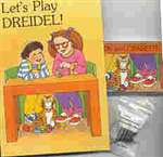 Let's Play Dreidel - CD, Cassette, Song Book & Dreidel