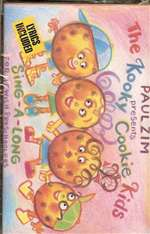 Paul Zim Kooky Cookie Kids - Cassette