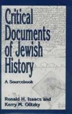 Critical Documents of Jewish History