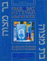 Bar/bat Mitzvah Memory Book (HB)