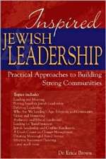 Inspired Jewish Leadership