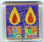 Magnet - Shabbat Candles