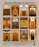 Sacred Doors of Atlanta Fine Art Plaque