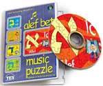 Alef Bet Music Puzzle