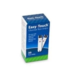 Easy Touch Glucose No Code Test Strips