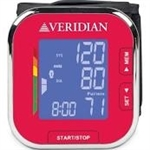 Southeastern Medical Supply, Inc - Veridian 01-508 Wrist Blood Pressure Monitor - Ruby