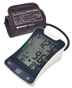 MedQuip BP-2500 Wide-screen Arm Blood Pressure Monitor