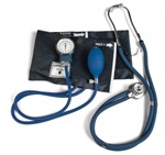 Southeastern Medical Supply, Inc - Lumiscope Model 100-040 Nurses Combo BP Kit Sphygmomanometer with Sprague Style Stethoscope and Carry Case, student nurse stethoscope kit, nursing kit, student blood pressure kit,