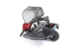 Red Bobcat 3 Wheel Compact Scooter