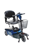 Blue Bobcat 3 Wheel Compact Scooter