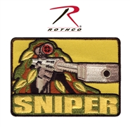 """Sniper""  50cal. Barrett Airsoft Patch w Velcro Back"