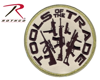 """Tools Of The Trade"" Airsoft Patch w Velcro Back"