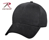 Rothco Supreme Low Profile Adjustable Cap - Solid Black