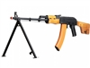 Echo1RedStar LMG Airsoft Full Metal AEG Rifle - Real Wood Furniture