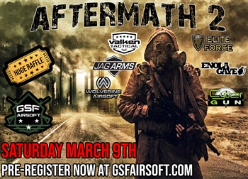 GSF airsoft Aftermath 2 Event Milsim role play