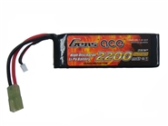 Gens Ace 7.4v LiPo (Lithium Polymer) Battery - 2200mAh w/ Mini Tamiya Plug