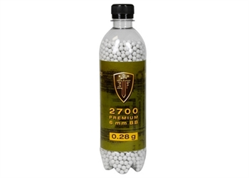 .28g Umarex Elite Force Match Grade Airsoft BBs - 2700ct Bottle - White