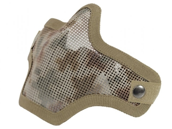 Bravo 2G Wire Mesh Half Face Airsoft Mask | AOR1