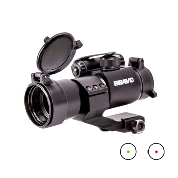Bravo Red/Green Dot Sight with Cantilever Mount