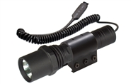 UTG Tactical Xenon Flashlight with Weaver Ring & Pressure Switch