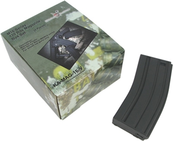 King Arms Airsoft M4 120Rnd Mid-Cap Magazine - Box of 5