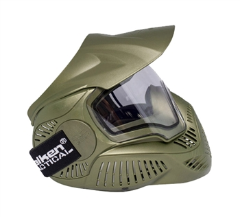 Annex MI-7 Full Face Safety Mask w/Thermal Lens – OD Green