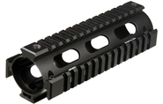 UTG PRO M4/AR15 Carbine Length 2-piece Drop-in Quad Rail, Black