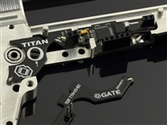 Gate TITAN Advanced Airsoft AEG MOSFET Complete Set with Programming Card and USB-Link - Front Wired