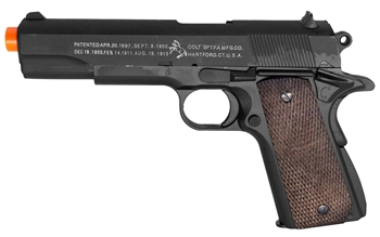 Colt 1911-A1 Military Spring Airsoft Pistol