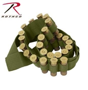 Shotgun Shell Bandolier - OD Green