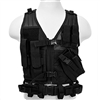 NcStar Children Size Tactical Vest – Black Color