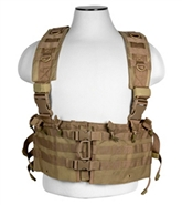 NcStar M4/AR Tactical Chest Rig - Tan