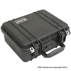 Pelican 1400 Case with Solid Foam
