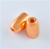 9mm-124 HP, copper plated bullet, Round nose, Xtreme Bullets