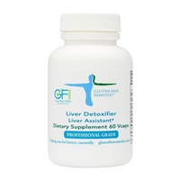 gluten free remedies liver detxoifier product bottle