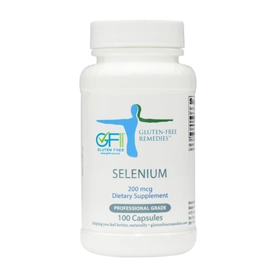 gluten free remedies selenium bottle