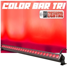 Color Wash Bar - 40 Inch Tri-Color RGB - 24x3W LED - Adkins Professional Lighting