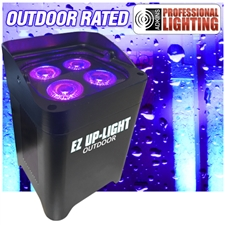 EZ Up-Light Outdoor - LED Battery Powered Wireless Waterproof Outdoor Up-Light