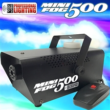 Fog Machine - Adkins Professional 500 Watt Mini Fog Machine with Remote