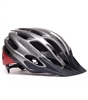 Cyclist Red Helmet