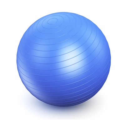 Large Blue Yoga Ball