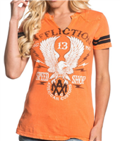 Crazy Eagle Western Yoke Tee
