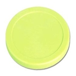 "Large Green Plastic Puck (3 1/4"")"
