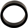 "Flipper Rubber 1 1/2"" x 1/2"" BLACK"